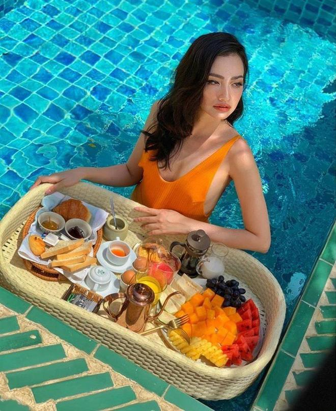 Hoa hậu Trúc Diễm tiết lộ lý do sốc khiến mắt lồi, mặt sưng như thẩm mỹ hỏng-2