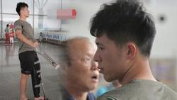 Chỉ vài chia sẻ của HLV Chu Đình Nghiêm, fans vô cùng xót xa khi biết tình hình chấn thương hiện tại của Đình Trọng