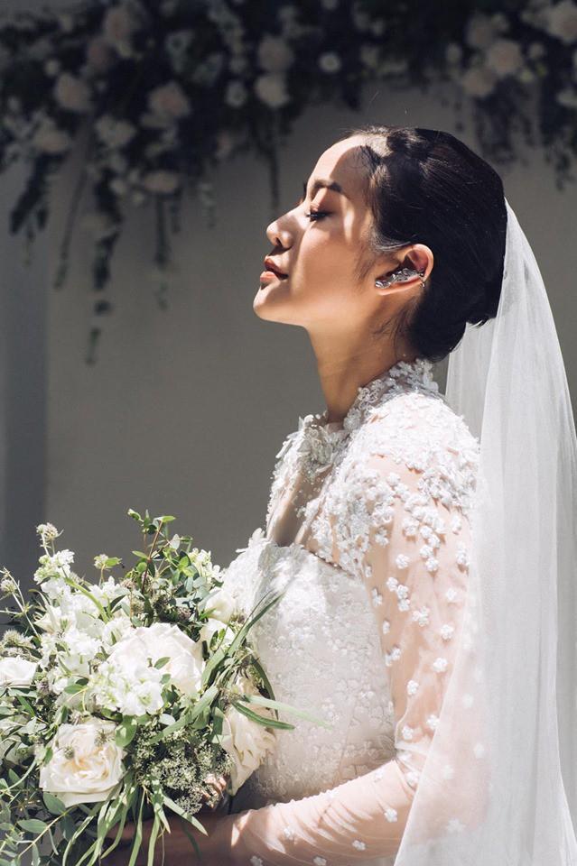 Khoe ảnh cưới đẹp không tì vết, MC đình đám VTV xác nhận theo chồng bỏ cuộc chơi nhưng vấn quyết giấu ảnh chú rể-3
