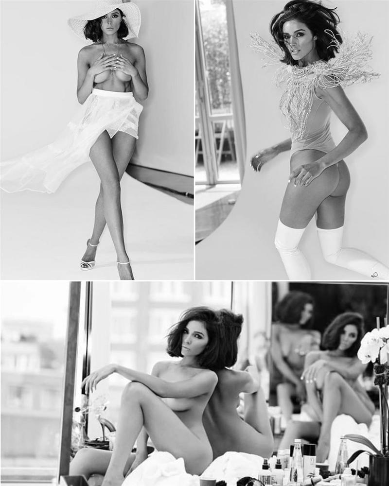 Bản tin Hoa hậu Hoàn vũ 11/6: Mặc đầm xuyên thấu lộ cả miếng dán ngực mà Phạm Hương vẫn không cuốn hút bằng mỹ nữ U50-5