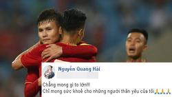 Ông nội bệnh trở nặng nhưng gia đình giấu để con trai tập trung đá chung kết King's Cup, status của Quang Hải khi biết chuyện khiến fans xót xa