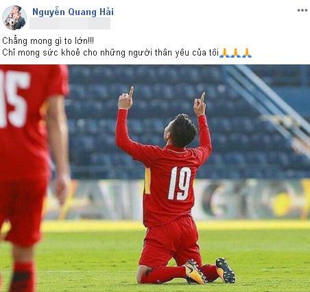 Ông nội bệnh trở nặng nhưng gia đình giấu để con trai tập trung đá chung kết Kings Cup, status của Quang Hải khi biết chuyện khiến fans xót xa-1