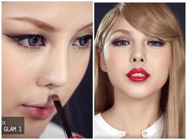 Không thể không xem: Màn trang điểm biến hóa thành Taylor Swift cực đỉnh