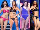 Gợi cảm hơn sau tăng cân nhưng Hoàng Thùy vẫn chưa đủ bốc lửa khi so kè thí sinh Miss Universe 2019
