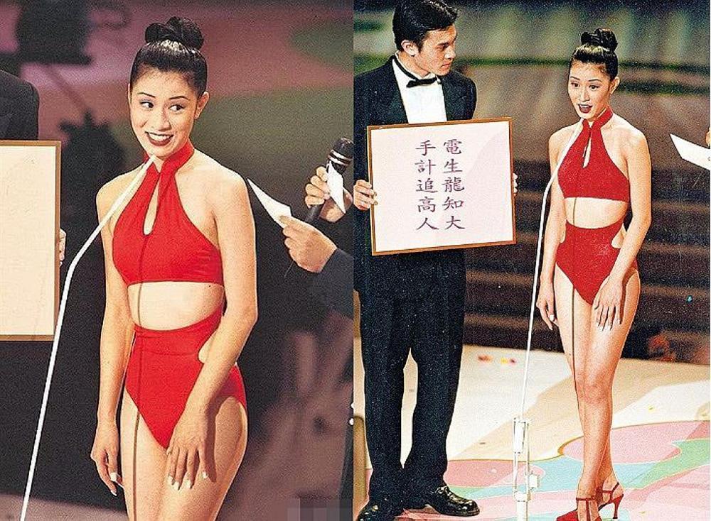 Nhìn Xa Thi Mạn diện 2 bộ áo tắm cùng kiểu chỉ khác màu, ai nghĩ chị đại TVB đã U50 rồi?-3