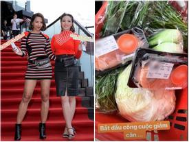 Béo đến mức photoshop mãi không ăn thua, Kỳ Duyên bắt đầu chiến dịch 'khâu miệng' nghiêm khắc giảm cân