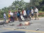 Cha trọng thương, 2 con tử vong sau va chạm với xe tải-3