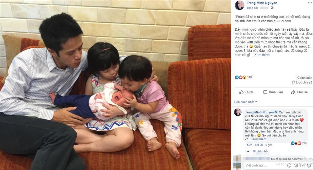 Từng trầm cảm sau sinh và đã có 3 con, MC Minh Trang gây bất ngờ khi thông báo mang bầu lần 4-2