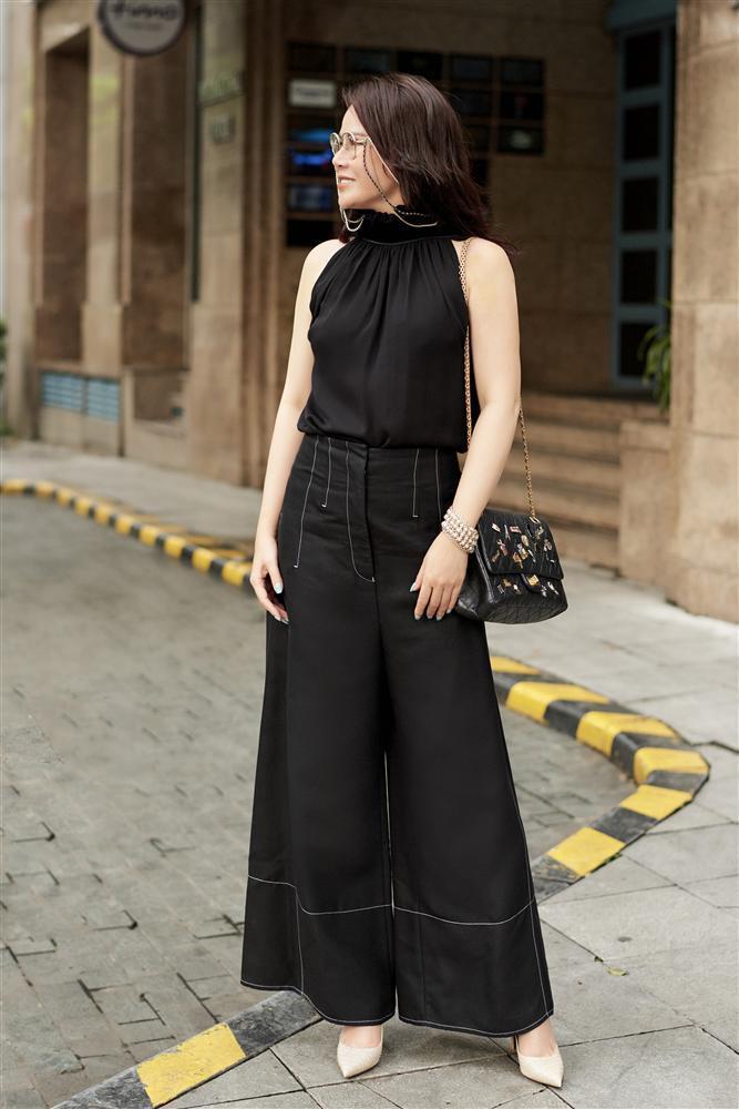 U50 trông sẽ chỉ như tuổi băm nếu áp dụng bí quyết thời trang của Mrs Vietnam 2018 Trần Hiền-7