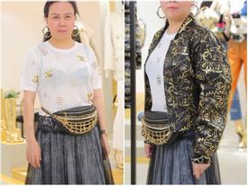 Phượng Chanel phản cảm và kém sang vì lộ nội y dù diện cả cây hàng hiệu