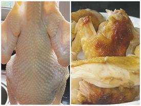 Thả con gà vào nồi cơm điện, 40 phút sau cả nhà được ăn món ngon chưa từng thấy
