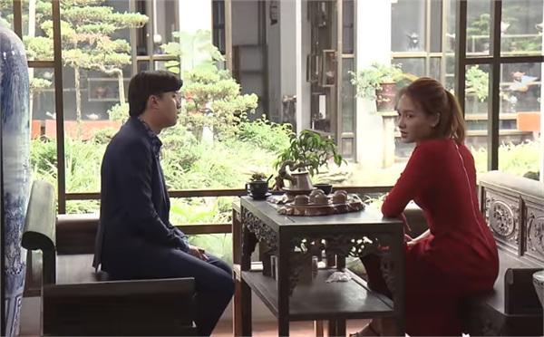 Huệ van xin ông Sơn đừng bán nhà đưa tiền cho Khải trong tập 44 Về Nhà Đi Con-1
