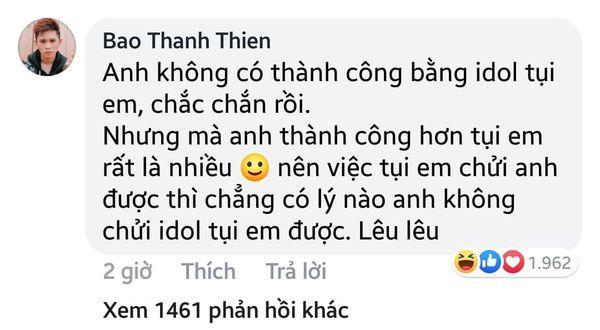Nam rapper Việt tự cho mình quyền chửi BTS: Chẳng có lý nào tôi không được chửi idol các bạn, lêu lêu-3
