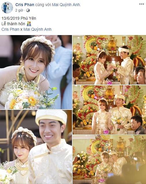 Đúng ngày cưới, vlogger Huy Cung bất ngờ tiết lộ mối tình thầm kín vượt khoảng cách giới tính với Cris Phan-1