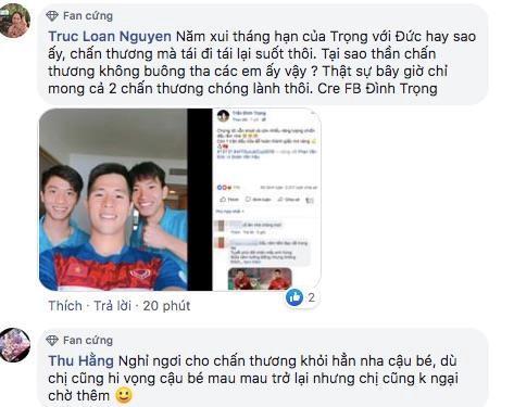 Hội fan girl lo lắng khi hết Đình Trọng đến Văn Đức gặp chấn thương-3