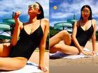 Phạm Hương phô diễn vòng 1 sexy nghẹt thở 'hot' ngang ngửa cái nắng mùa hè