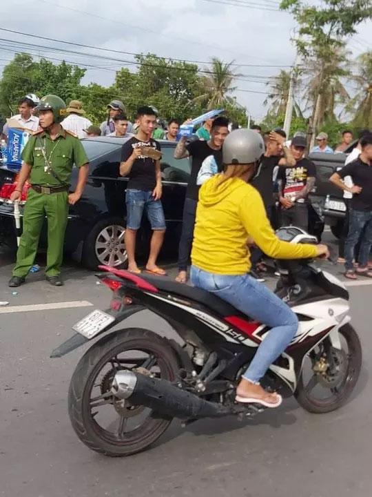Giang hồ bao vây công an ở Biên Hòa: Nhân chứng tại nhà hàng nói gì?-3