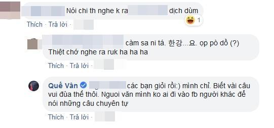 Quế Vân đáp trả khi nói tiếng Hàn Quốc mà lại bị đám đông xỉa xói không ai hiểu gì-5