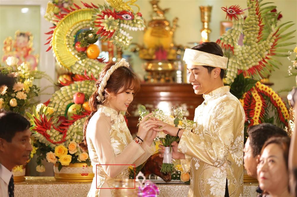 Mặc áo dài mà mất hết cả eo thon, hotgirl Mai Quỳnh Anh bị đặt dấu hỏi dâng cả trâu lẫn nghé cho Cris Phan-2