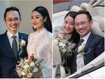 Chú rể quyền lực ở VTV tình tứ trao nhẫn, tiết lộ giấc mơ đặc biệt khiến anh phải cưới Phí Linh làm bạn đời-27