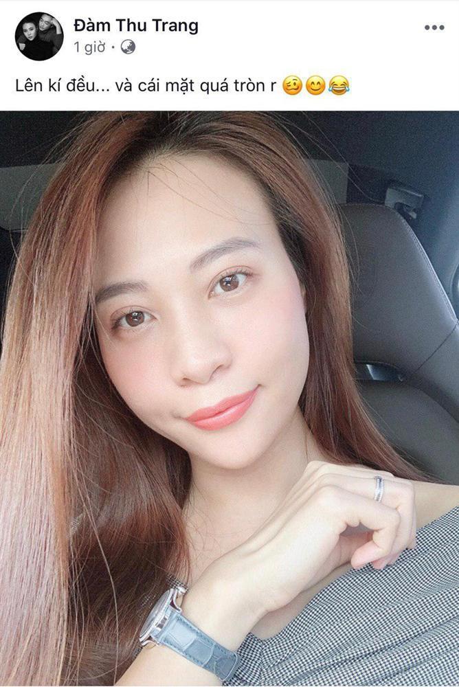 Hôn phu Cường Đô La - người mẫu Đàm Thu Trang để lộ bằng chứng mang thai khó chối cãi-2