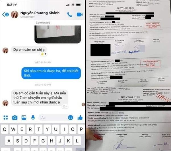 Hot girl ngực khủng Ngân 98 tung bằng chứng Hoa hậu Trái đất Phương Khánh vay nợ tiền tỷ mãi không chịu trả-3