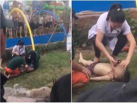 Người dân nói gì sau khi bé trai đến công viên nước Thanh Hà tử vong?