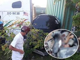 Tai nạn kinh hoàng: Xe container tông bẹp dúm ô tô 4 chỗ, nhìn hiện trường mà rùng mình sợ hãi