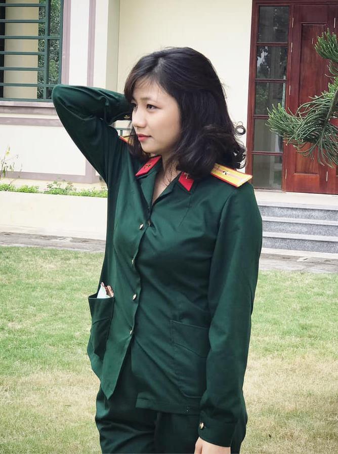 Nữ quân nhân xinh như mộng của Bạn muốn hẹn hò: Ảnh ngoài đời còn xinh gấp 10 lần trên trường quay-3