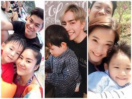 Gạt rào cản huyết thống, những sao Việt này gây bất ngờ vì yêu thương con riêng như con đẻ