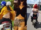 Chỉ trong một tuần, giới trẻ Việt 'sốc tận óc' trước 4 vụ gái xinh hết cởi sạch khoe thân đến ăn mặc hở hang ra phố