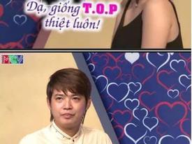 Chàng trai bỗng nhiên bị 'ném đá' vô cớ vì được gái xinh khen 'đẹp trai giống TOP' trong show hẹn hò