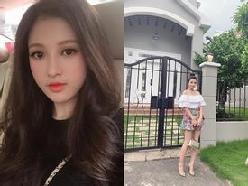 Khoe nhan sắc xinh đẹp nhưng dân tình chỉ quan tâm đến bất động sản nơi em gái Huyền Baby check-in