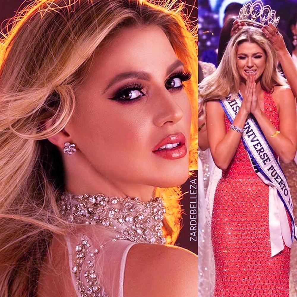 Bản tin Hoa hậu Hoàn vũ 14/6: Cơ hội intop của Hoàng Thùy bị đe dọa bởi công chúa tóc vàng đẹp như tranh-1