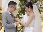 Chú rể quyền lực ở VTV tình tứ trao nhẫn, tiết lộ giấc mơ đặc biệt khiến anh phải cưới Phí Linh làm bạn đời