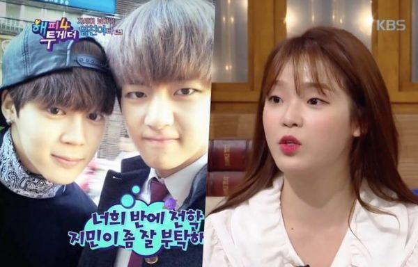 Tính cách thật thời học sinh của V và Jimin (BTS) qua lời kể của một nữ idol đang là chủ đề gây sốt mạng xã hội Hàn Quốc-1