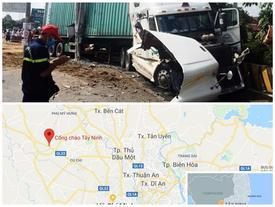 Tài xế gây tai nạn làm 5 người chết ở Tây Ninh khai 'do buồn ngủ'