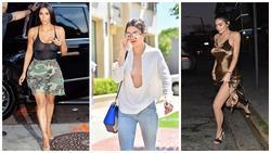 3 kiều nữ nhà tỷ phú trẻ nhất thế giới thích mặc mốt thả vòng 1 ở nơi đông người