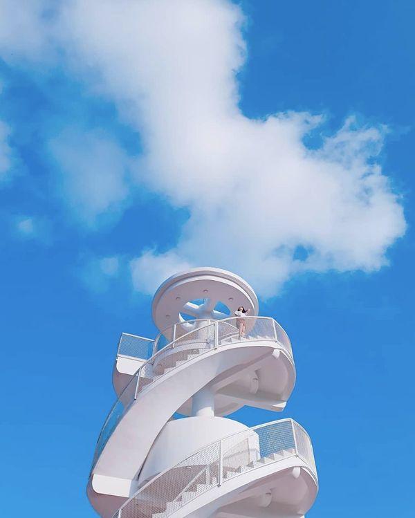 Nha Trang xuất hiện cầu thang xoắn trắng muốt, hứa hẹn trở thành bậc thang lên thiên đường sống ảo của giới trẻ-6