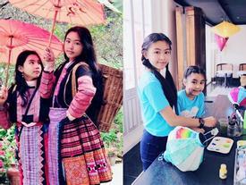 Cao như Hoa hậu, hai con gái của Quyền Linh còn có gout ăn mặc đồng điệu