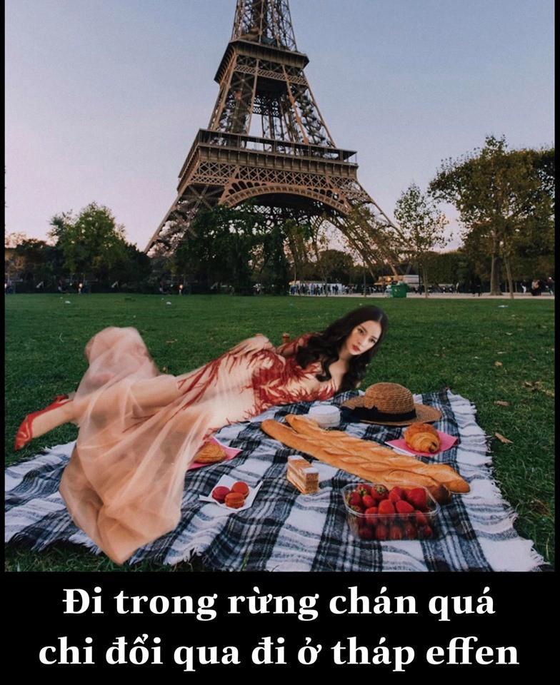 Có tâm như fan Chi Pu: Biết idol không có thời gian du lịch liền giúp chị nhà có ảnh sống ảo chất hơn nước cất-6