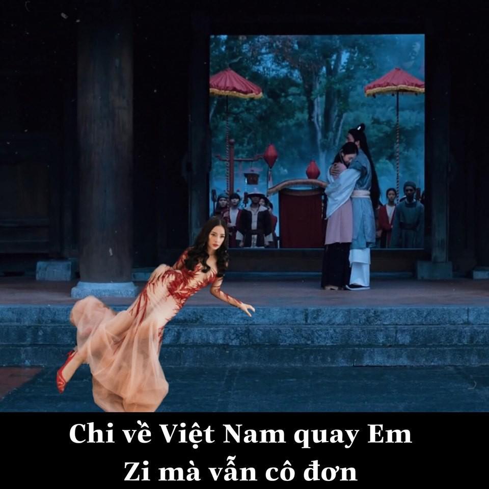 Có tâm như fan Chi Pu: Biết idol không có thời gian du lịch liền giúp chị nhà có ảnh sống ảo chất hơn nước cất-9