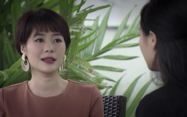 Ánh Dương phát hiện bố của bạn thân chính là người trong mộng trong tập 46 Về Nhà Đi Con-1