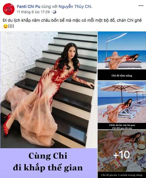 Có tâm như fan Chi Pu: Biết idol không có thời gian du lịch liền giúp chị nhà có ảnh sống ảo chất hơn nước cất-1