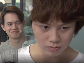 Ánh Dương phát hiện bố của bạn thân chính là 'người trong mộng' trong tập 46 'Về Nhà Đi Con'