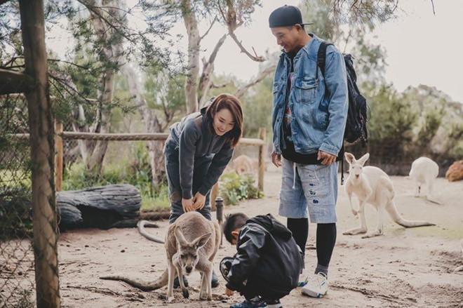 Quá nhi, cô cô Phạm Văn Phương - Lý Minh Thuận du lịch ở Australia-3