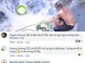 Dân mạng tấn công trang cá nhân YouTuber đổ 200 quả trứng lên đầu mẹ