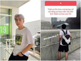 Long Hoàng check-in tại Hàn Quốc, dân mạng nghi vấn 'sang thực tập' hay 'tham gia trại hè'?