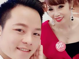 Chuyện mang thai giả vừa nguội, cô dâu 62 tuổi ở Cao Bằng lại gây sốc khi khoe ảnh được chồng trẻ tháp tùng đi thi hoa hậu