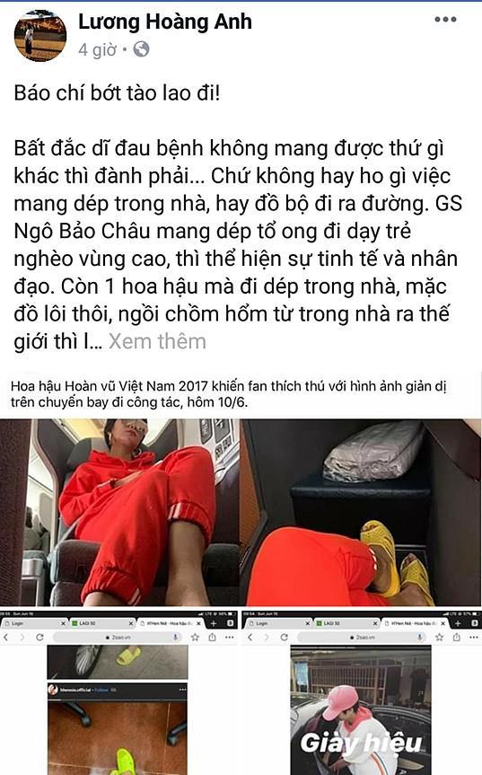 HHen Niê đáp trả khi vợ cũ diễn viên Huy Khánh chê quê mùa, thiếu văn minh vì đi dép tổ ong-1